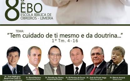 8ª EBO – Escola Bíblica de Obreiros – Limeira SP