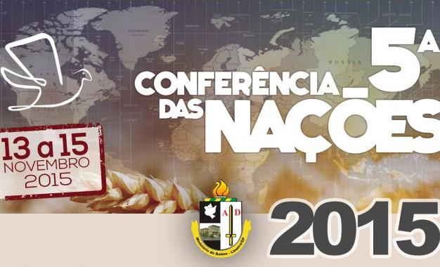 5ª Conferência das Nações – Domingo (noite) [vídeo]