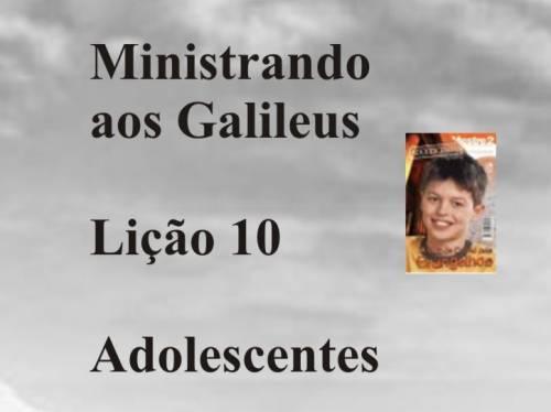 Ministrando aos Galileus