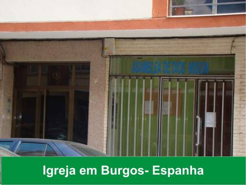 Missões em Portugal e Espanha - Confira mais fotos.