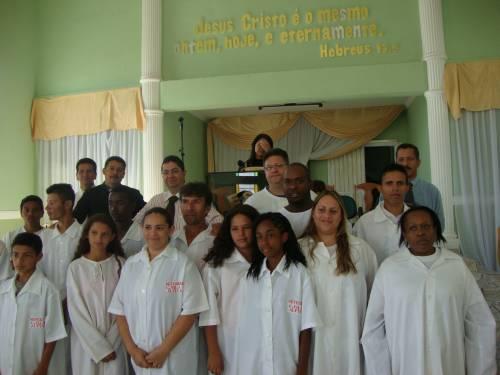 Batismo em Severínia dia 11 de Julho 2010