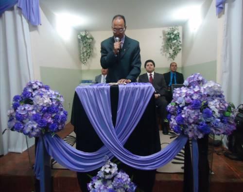 Congregação do bairro do Tatu: 28º Aniversário do Circulo de Oração e templo