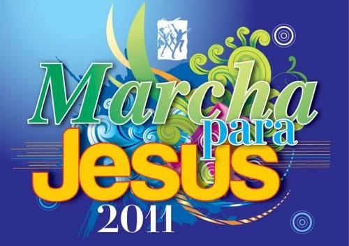 Marcha Para Jesus 2011 acontece dia 23 de junho em São Paulo
