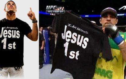 Vitor Belfort volta a vencer e agradece a Jesus