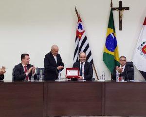 Pr. Joel Amâncio recebe título de Cidadão Santa-Gertrudense