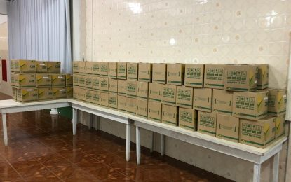 UMADCLI arrecada 144 cestas básicas