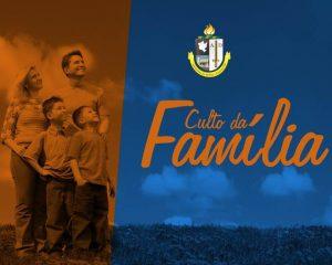 Conselho Nupcial promove culto da família nesse domingo