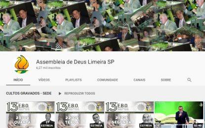 Você já é inscrito no canal da IEAD no YouTube?