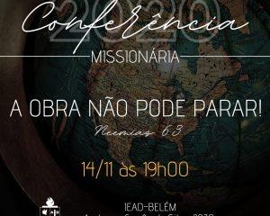 IEAD faz apresentação da expansão missionária em 2020