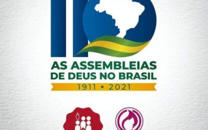 Assembleias de Deus no Brasil celebra 110 anos em junho