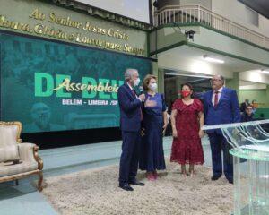 IEAD realiza culto de ação de graças no templo sede